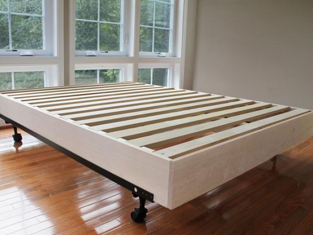 How To Make A Diy Platform Bed Lowe S Use These Easy Diy Platform Bed Plans To Make A Stylish Bed Fram Diy Platform Bed Plans Diy Bed Frame Diy Platform Bed