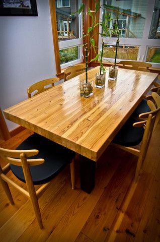 Masimo Beam Salontafel.Glulam Slab Fir Dining Table Handcrafted Furniture Living Room