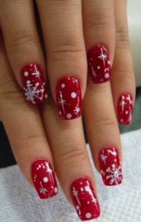 The 20 best christmas nail designs for you pedi makeup and mani the 20 best christmas nail designs for you prinsesfo Images