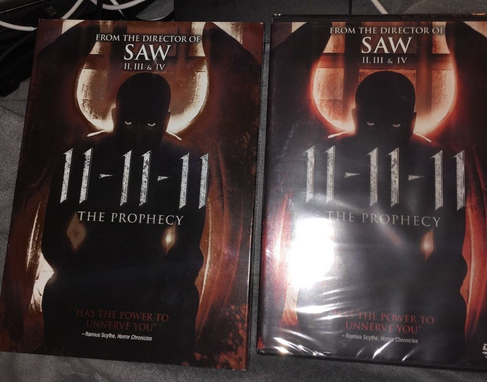 11/11/11 The Prophecy (DVD, 2012) New With Slipcover Sealed