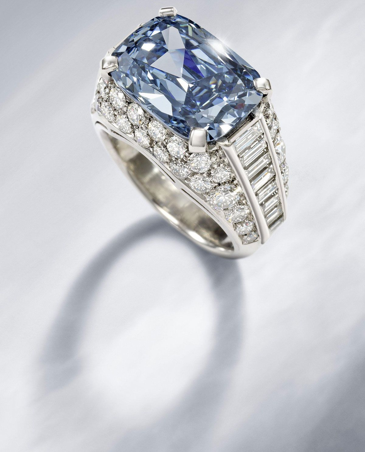 World's Most Expensive Engagement Ring, featuring a 5.2