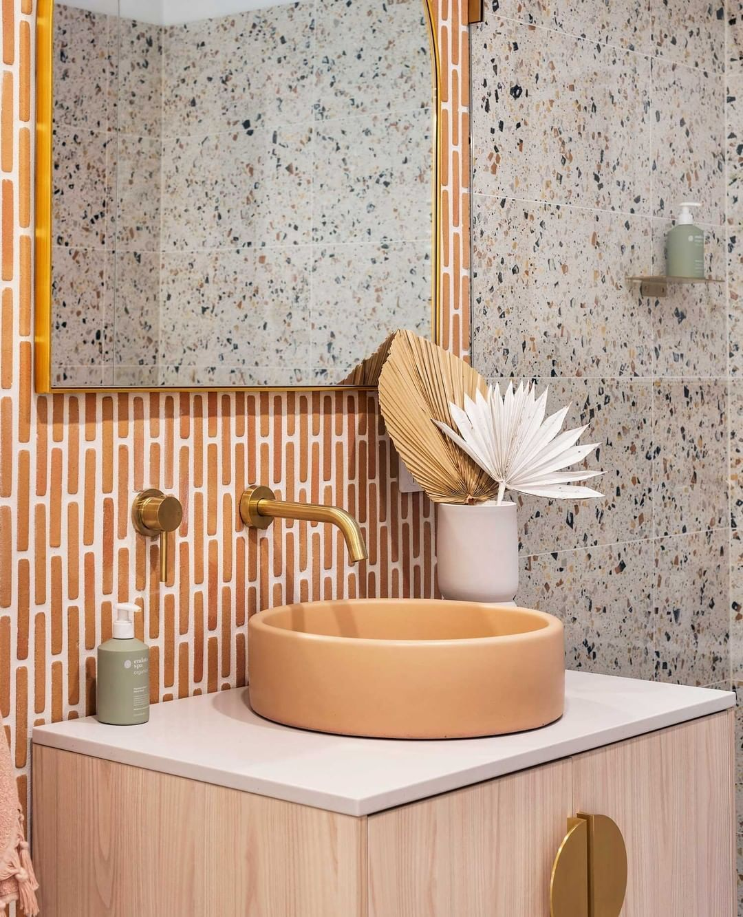 """Photo of ABI Bathrooms & Interiors on Instagram: """"We almost needed to be revived after this epic bathroom popped up 💥  @thebayhaus has created such an on-point style and design, with the…"""""""