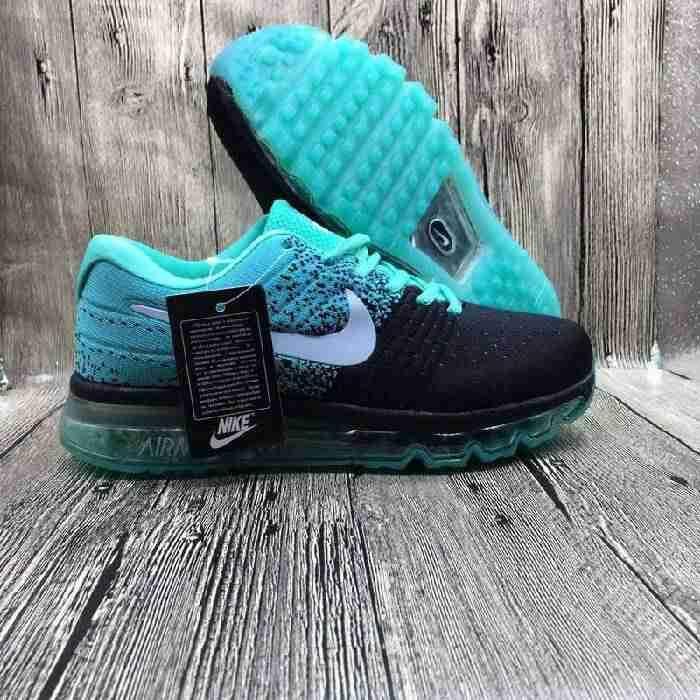 Nike Air Max 2017 Netflix Jade Black LUNARLUNCH Sports Shoes