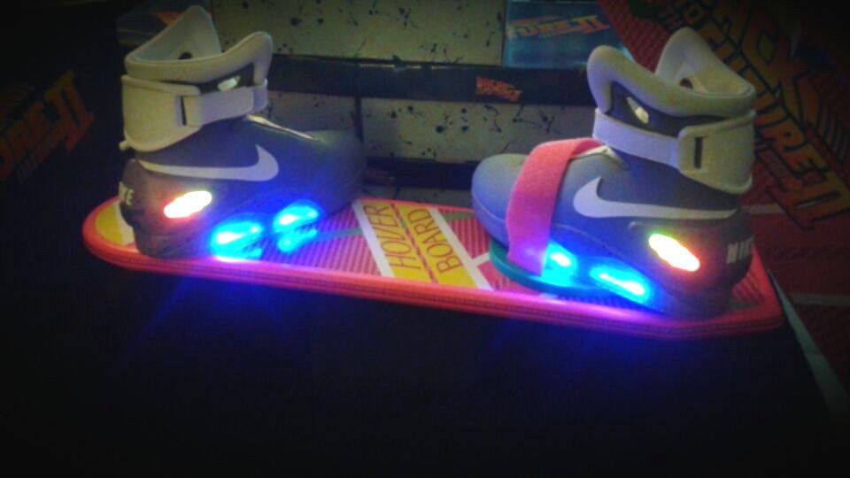 7e3b6b19fe22f8 nike air mags back to the future 2 custom shoes size 15 movie prop rare  item ltd from  375.0
