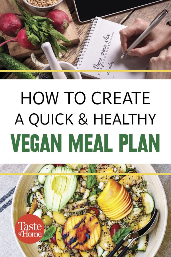 7 Secrets To A Quick Healthy Vegan Meal Plan Vegetarian