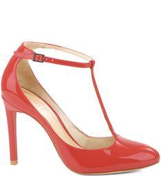 dbce4ad9c SCARPIN MARY JANE SCARLET Sapatos Schutz, Calças Femininas, Sapatilhas,  Chinelos, Escarlate,