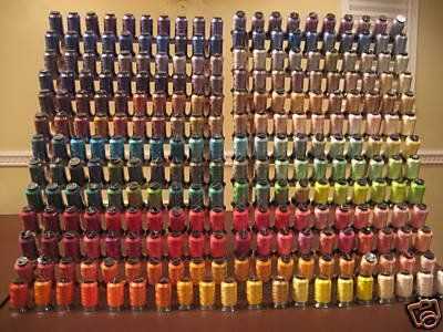 260 Spools Polyester Embroidery Machine Thread Embroidex