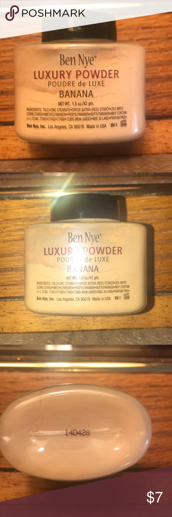 Ben Nye Banana Powder 1.5 oz Ben Nye Banana Powder 1.5 oz
