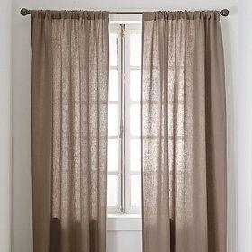 A possibility in mist?? Linen Window Panels
