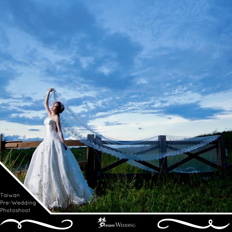Taiwan Pre wedding Promotion photoshoot venue Dream wedding