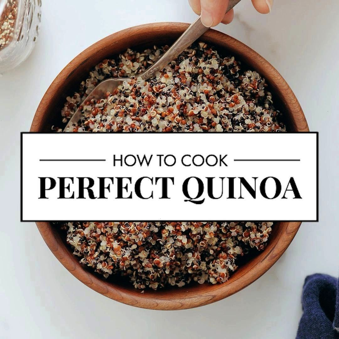 Cook Perfect Quinoa -  Learn how to cook perfect quinoa, every time! This method works best to cook
