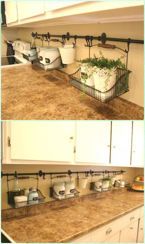 Uncluttered Kitchen Counter Instruction - DIY Space Saving ...
