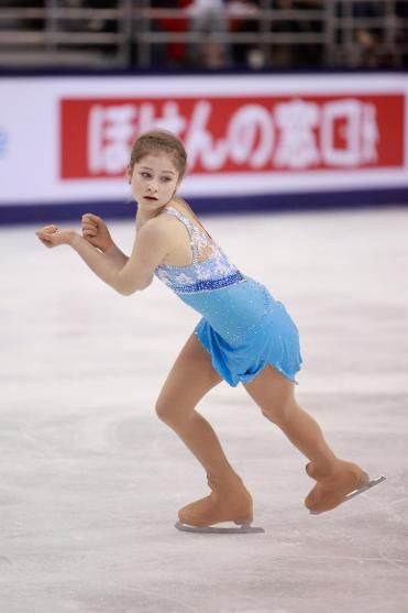 Julia Lipnitskaia of Russia wins silver at Cup of China