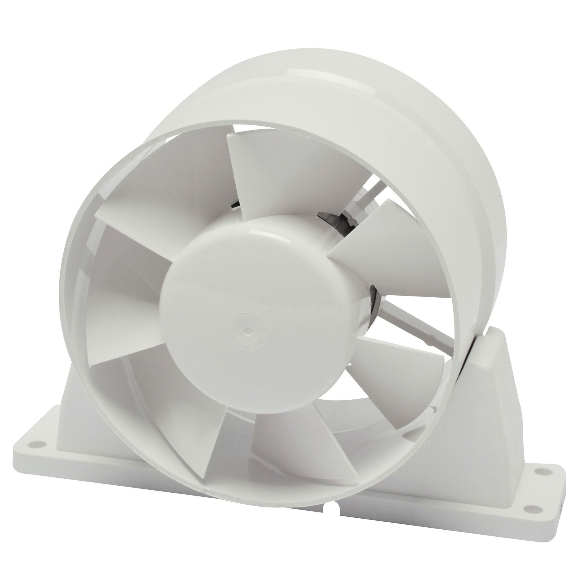 Ivc Air Buisventilator Pvc 125 Mm Gamma - Badkamer Ventilator 125