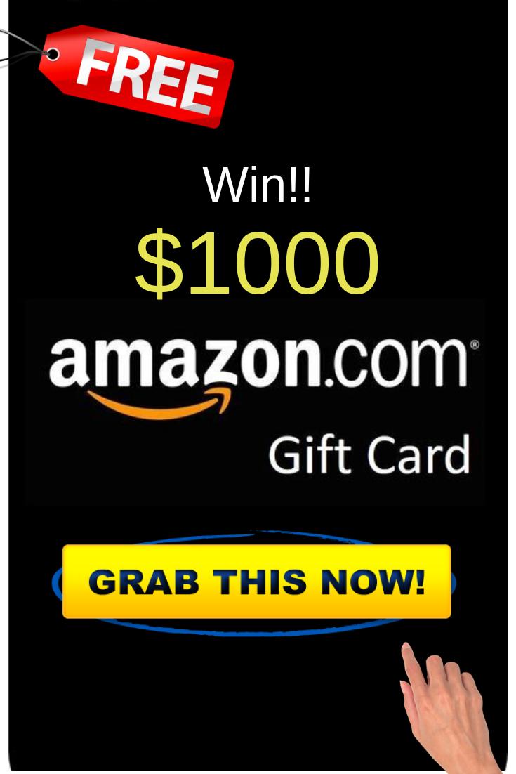 Grab Now 1000 Amazon Gift Card Amazon Gift Card Free Free Gift Cards Online Amazon Gift Cards