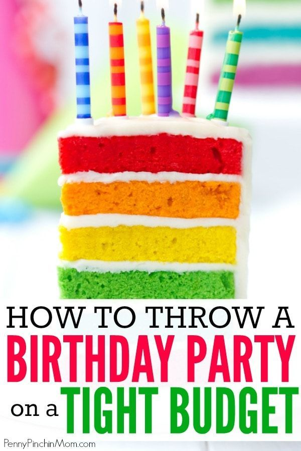 Throwing a Kid's Birthday Party on a Tight Budget is part of Tips For Throwing A Kids Birthday Party On A Super Tight - Simple ways to celebrate your child's birthday!! Easy ideas to give them a party they will always remember will remember  without going broke!