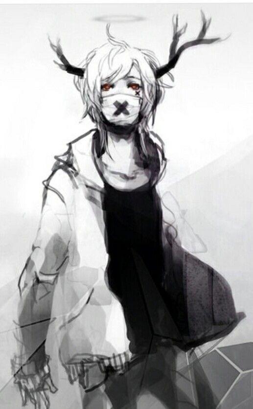 Anime Boy Demon Dark Anime Anime Art Anime Drawings