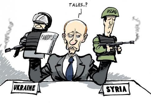 UKRAINE • Vu du monde arabe : Moscou perd à Kiev et gagne à Damas