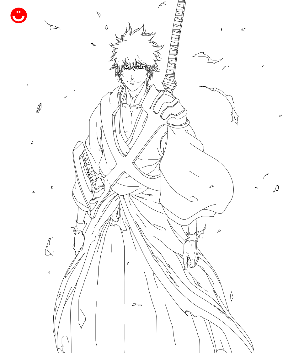 King Is Back By Hollowcn On Deviantart Bleach Art Bleach Anime Pictures To Draw [ 1124 x 969 Pixel ]