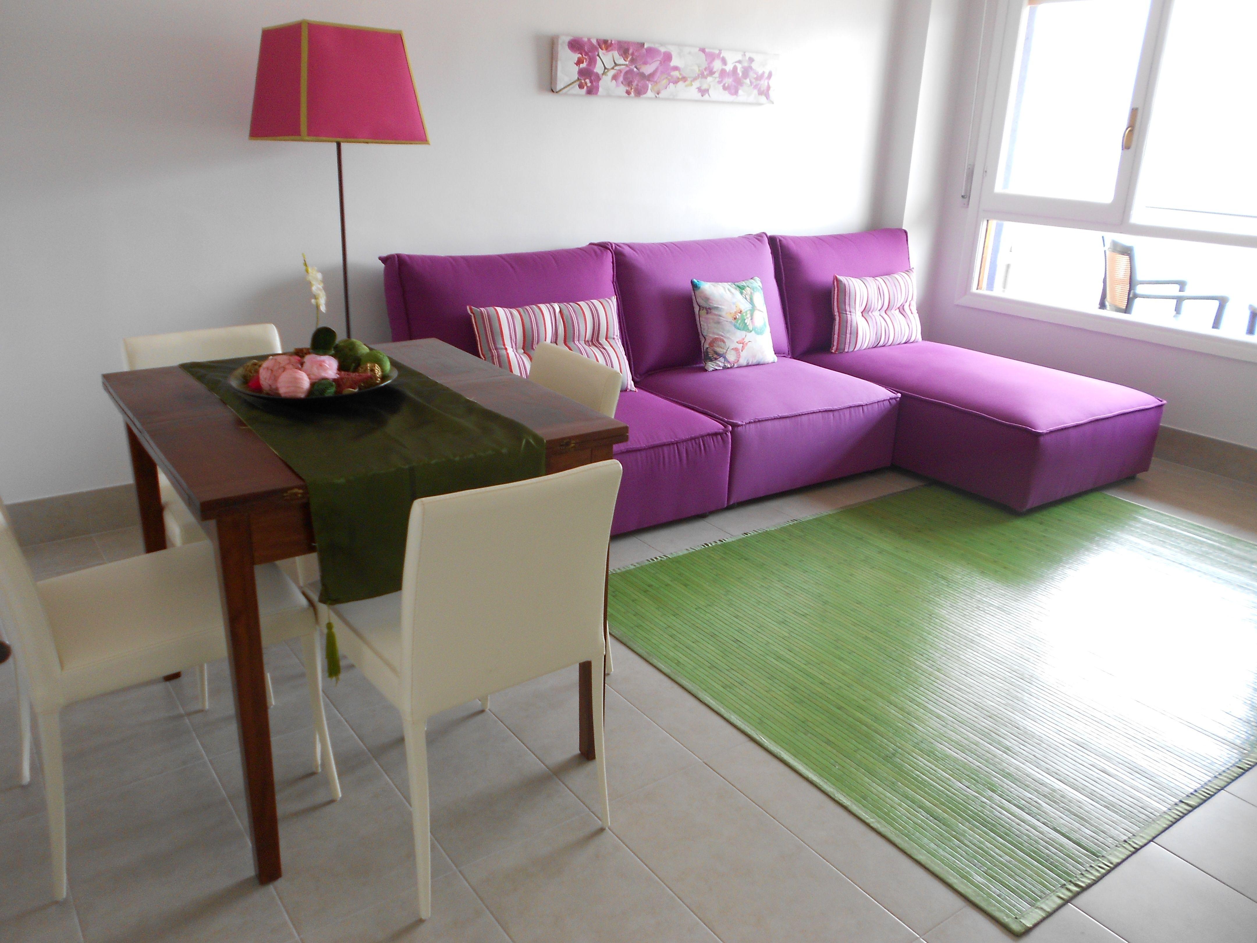 Salon estar-comedor economico en piso para alquiler | MIS TRABAJOS ...
