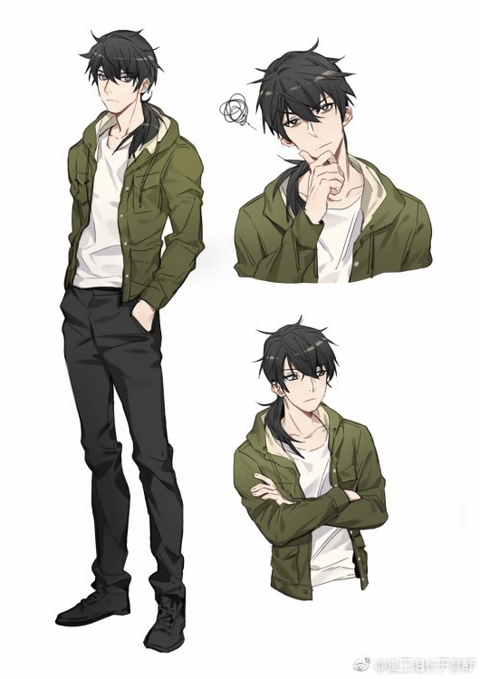 Animedrawing Anime Drawing Hairstyles Anime Character Design Character Design Male Character Design