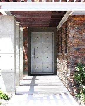Nova Contemporary Front Doors Austin By Cantera Doors Casas De Piedra Puertas De Fierro Puertas