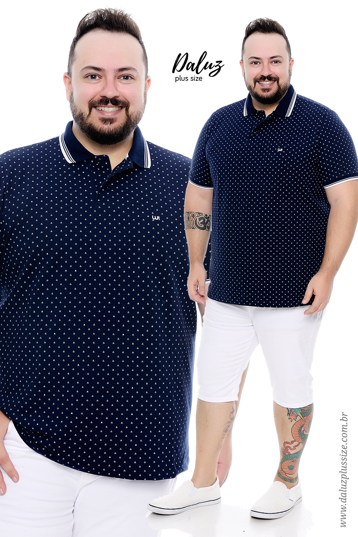 32195585169444 Polo Plus Size Masculina - Coleção Alto Verão 2018 - www ...