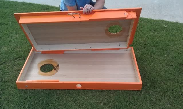 For Sale New Cornhole Board Design (Travel Set)   Softball Fans More