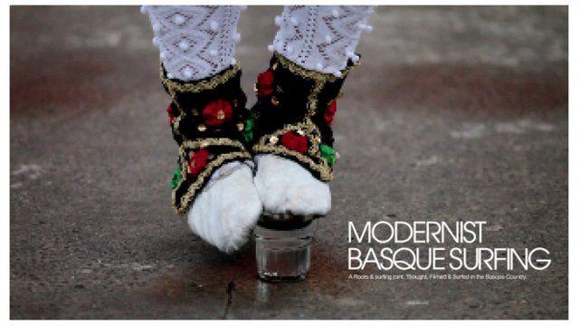 modernist basque surfing
