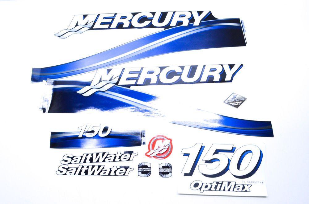 New Oem Mercury Decal Kit Nos Ebay Motors Parts Amp Accessories Boat Parts Ebay Boat Accessories Mercury Marine Boat Stuff
