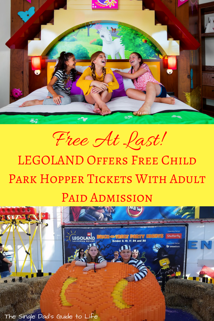 Free At Last Legoland Offers Free Child Park Hopper Tickets With
