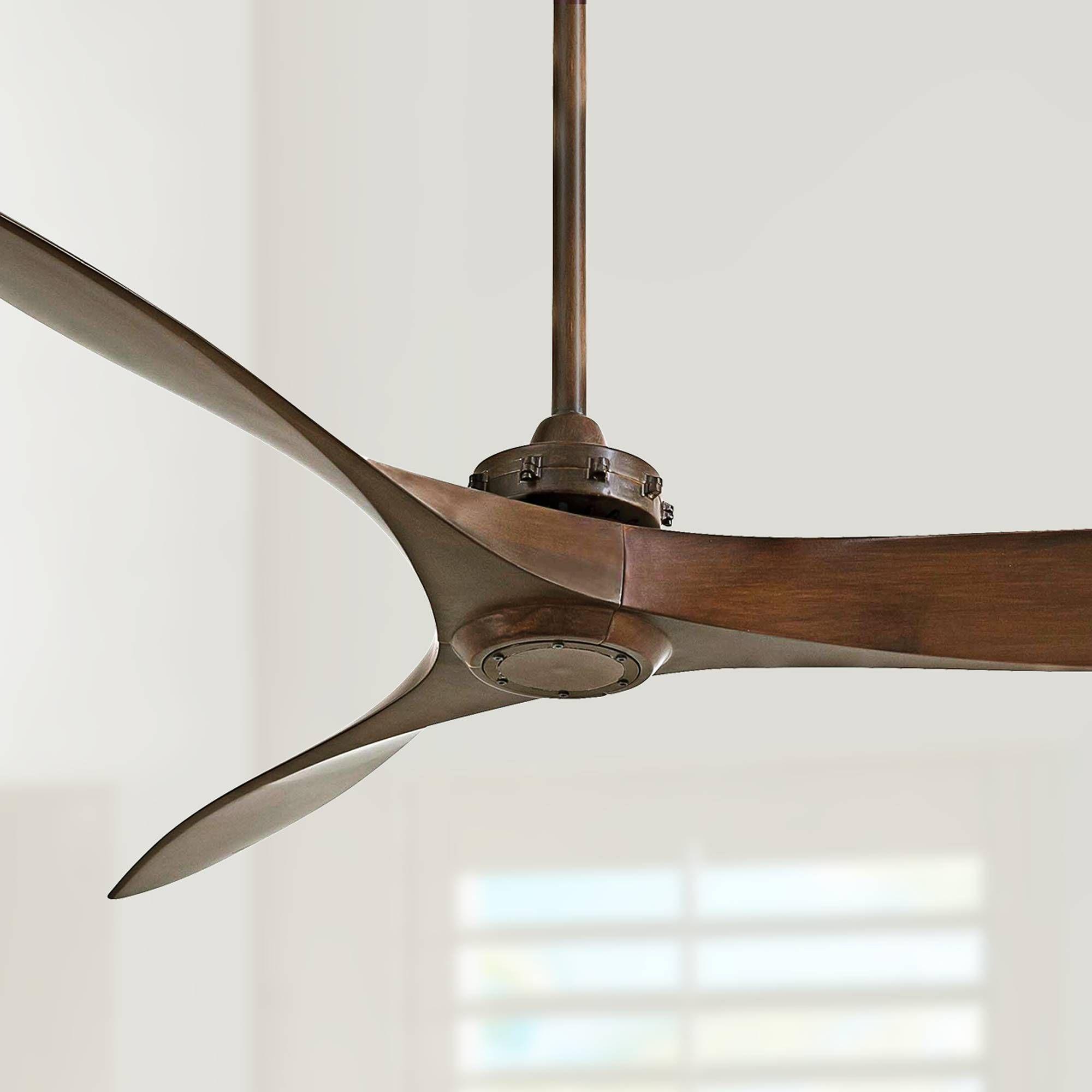 60 Minka Aire Aviation Rosewood Ceiling Fan 2t030 Lamps Plus