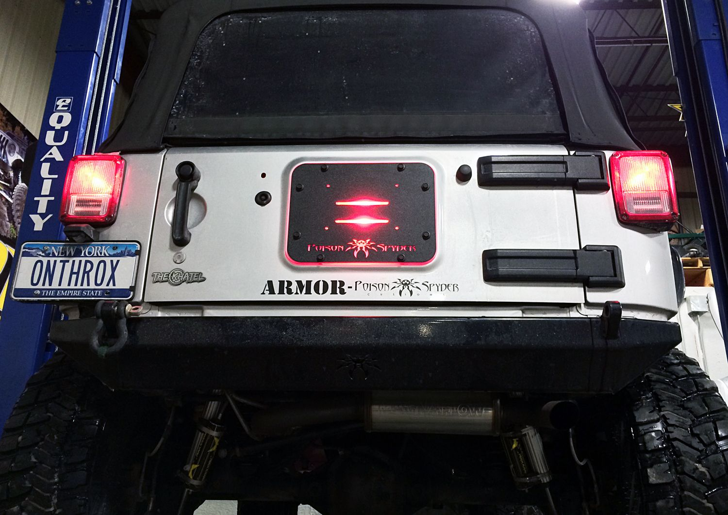 Jeep Led Brake Light A Jeep Thing Jeep Wrangler Off
