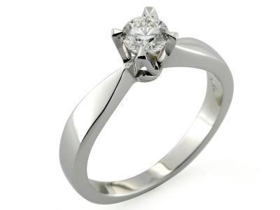 Anello Solitario Prezzo Offerta Anello Oro Cf00453 Anelli Anelli Di Fidanzamento Anelli Con Diamanti