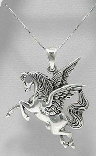 Dragon Pendant Large Wings 1-1//2 Inches Jewelry