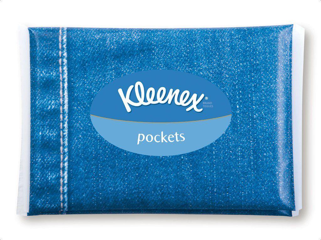 Pocket tissues Kleenex, Clothes horse, Pocket