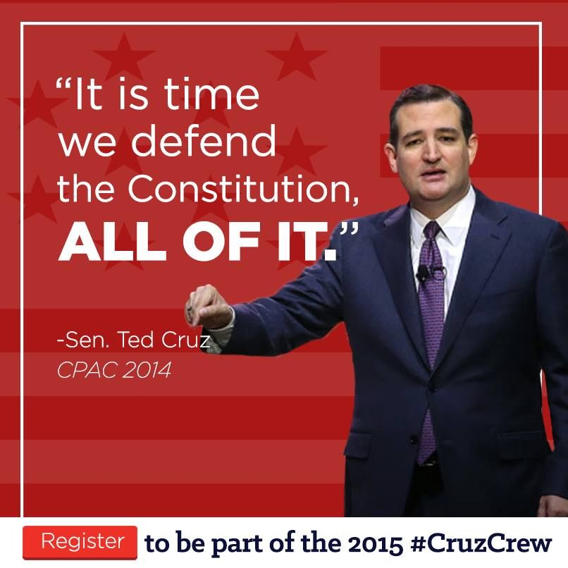 RESTORE OUR CONSTITUTIONAL REPUBLIC VIA OUR CREATOR GOD STARTING TODAY AND BEYOND. #TedCruz2016
