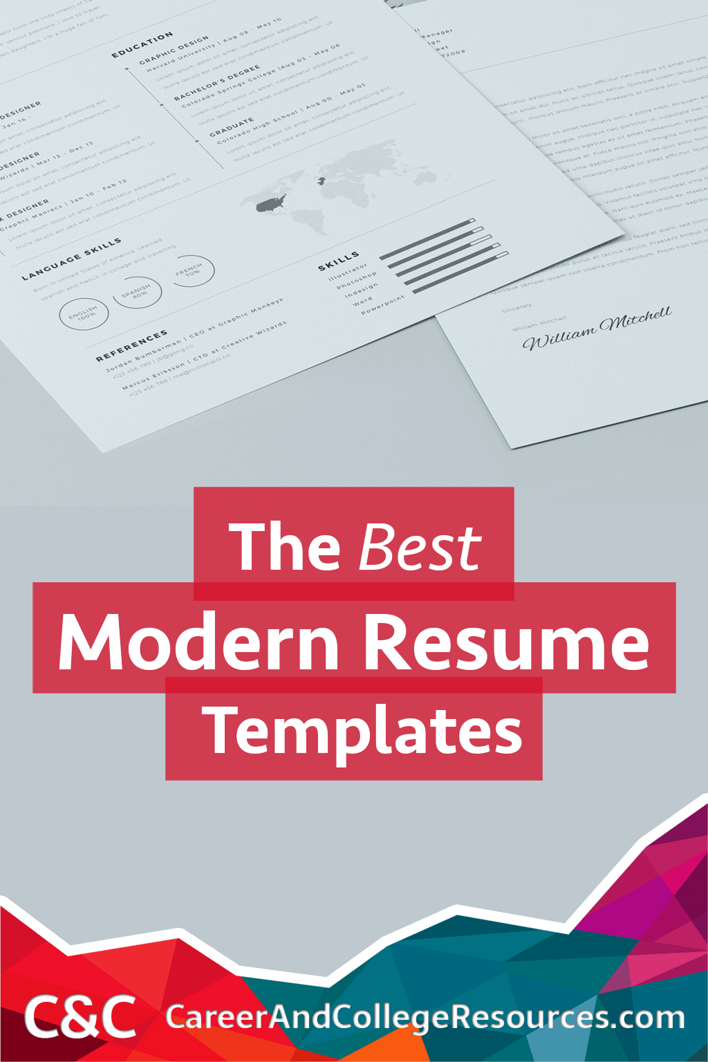 The Best Modern Resume Templates For   Template