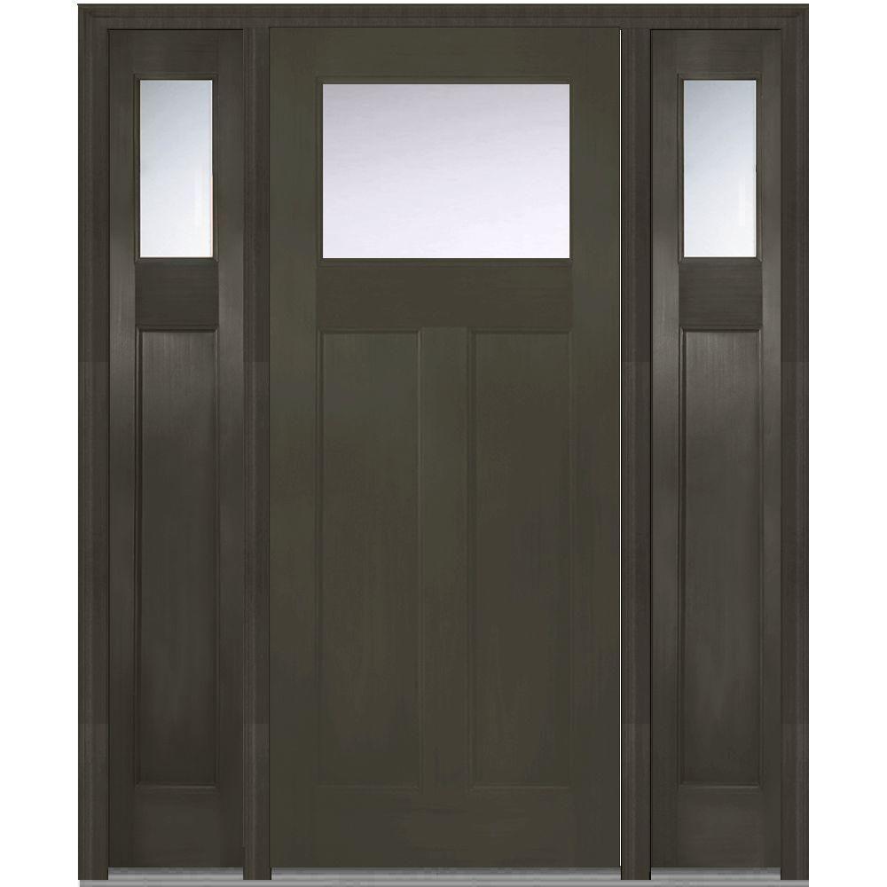 Mmi door in x in clear lefthand craftsman lite classic