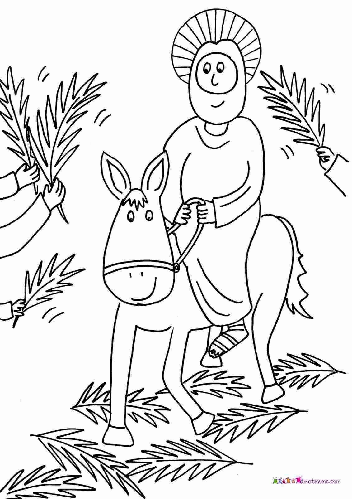Palm Sunday Coloring Page Awesome Coloring Pages Palm Sunday Easter Palm Sunday Crafts Pal In 2020 Easter Coloring Book Easter Coloring Sheets Christmas Coloring Pages