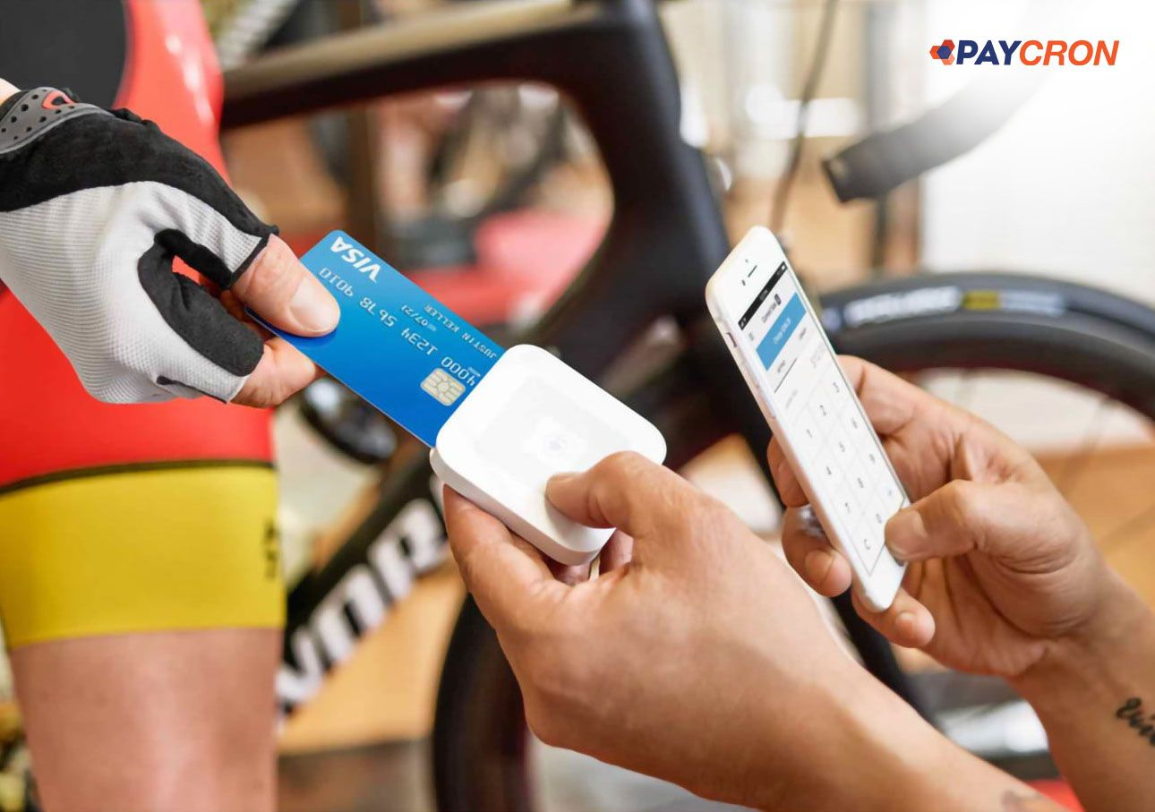 Accept payments with phone swipe terminal to avail