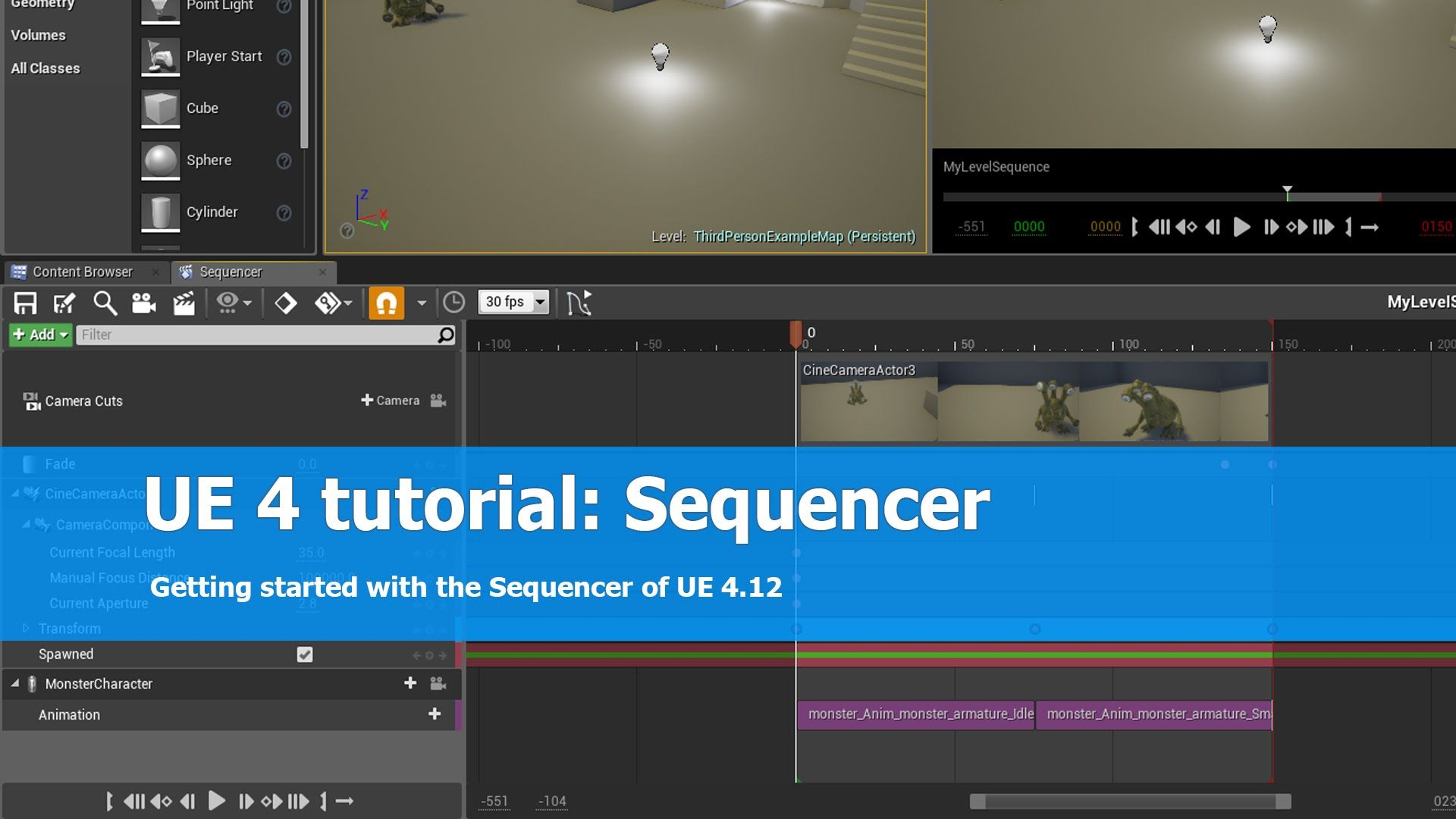 This is a tutorial on getting started with the sequencer of unreal this is a tutorial on getting started with the sequencer of unreal engine 4 ue4 malvernweather Gallery
