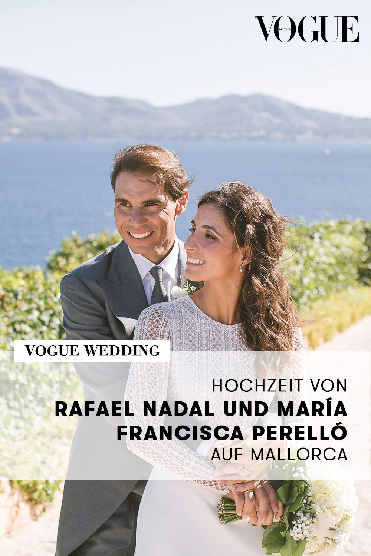 So Haben Rafael Nadal Und Maria Francisca Perello Auf Mallorca Geheiratet In 2020 Hochzeit Brautkleid Designer Rafael Nadal