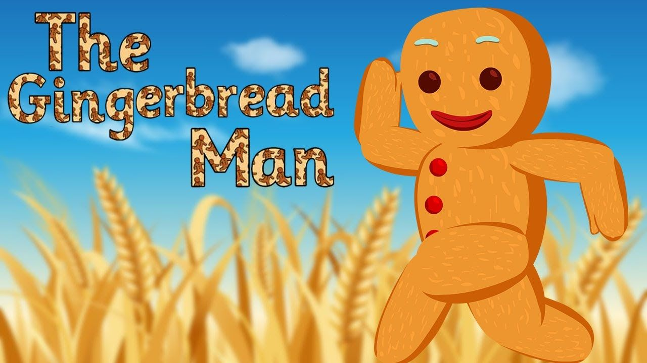 The Gingerbread Man Full Story Animated Fairy Tales