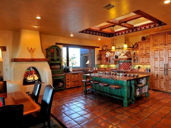 Spanish Style Kitchen Beautiful Design Ideas You Can Borrow
