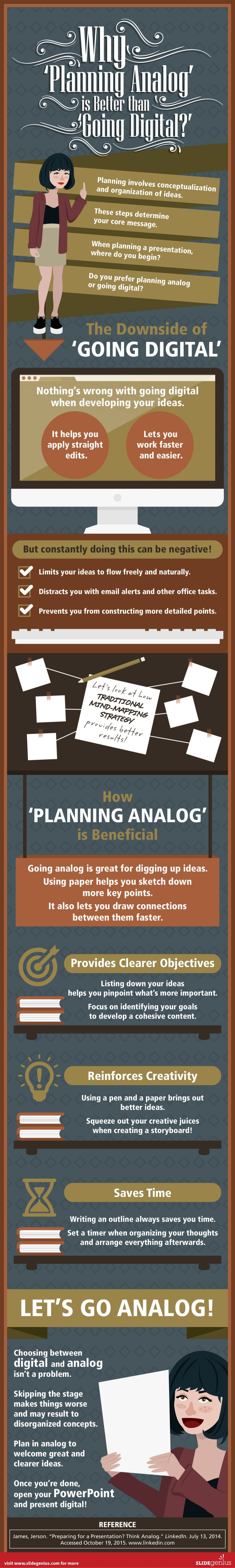 Why 'Planning Analog' is Better than 'Going Digital?'