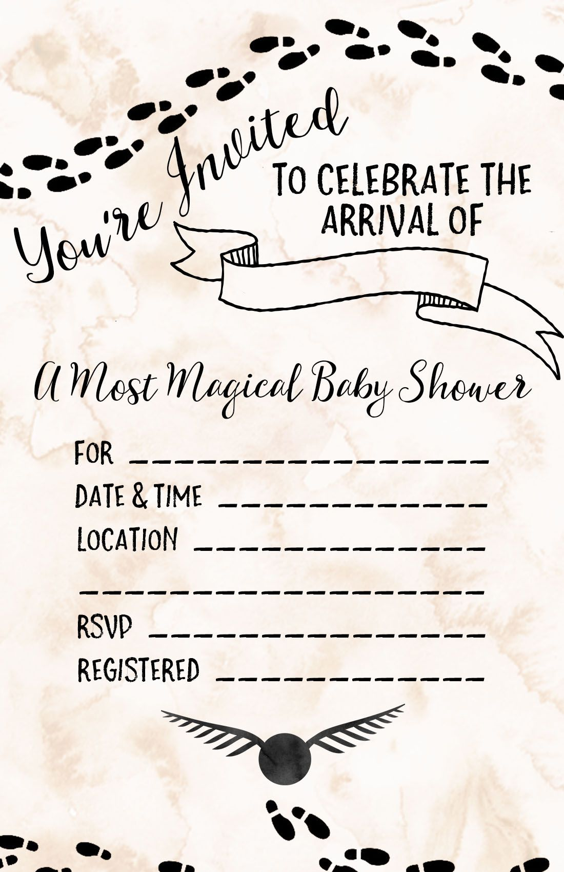 Harry Potter Baby Shower Ideas Free Printables Harry Potter