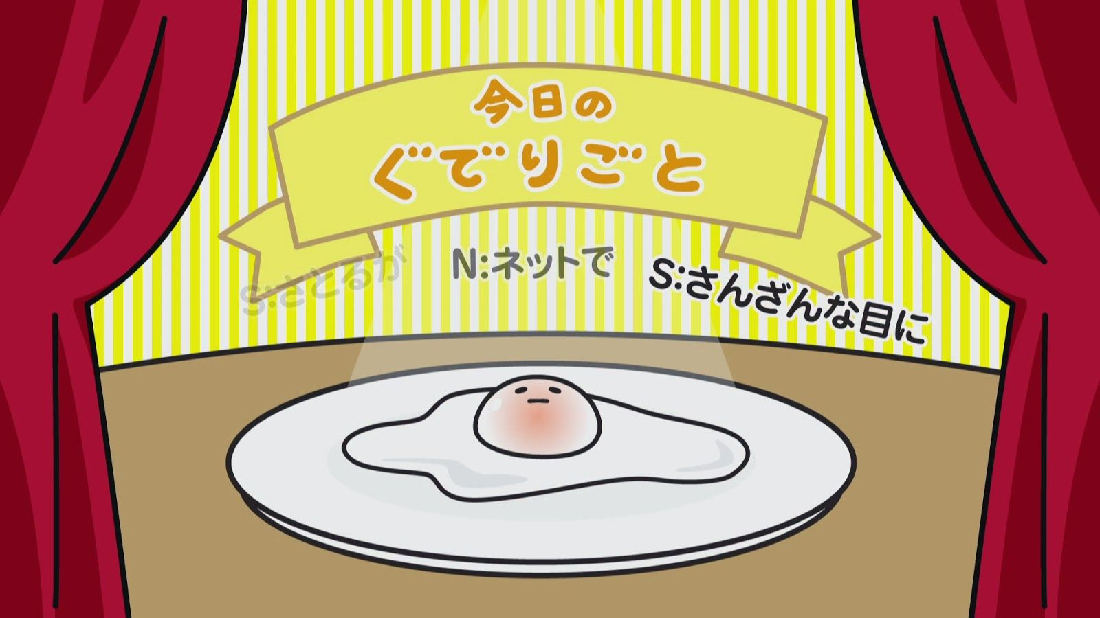 NEW Sanrio Gudetama Morning Plate Set Japan Fried egg Kawaii Character Tableware