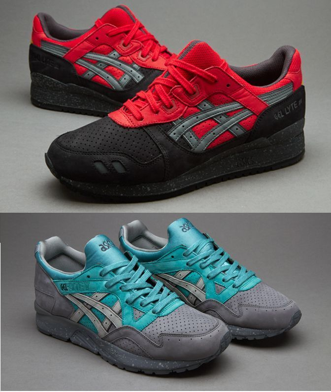 Asics Tiger Gel Lyte V 5 Frost Gel Lyte III 3 Bad Santa Christmas Pack  sneakers