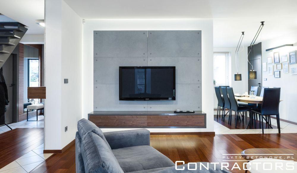 Płyty Betonowe Contractors Flat Screen Loft Flatscreen Tv